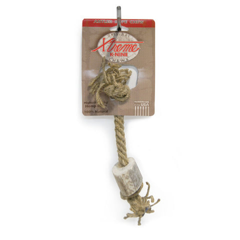 Xtreme K-Nine Antler Chew Rope Toy: Small