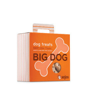sojos big dog treats beef stew