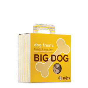 sojos big dog treats biscuits and gravy