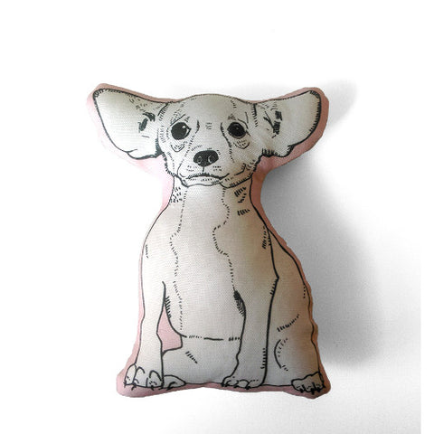 GoodAfternoonan Chihuahua Mini-Pillow Dog Home Decor
