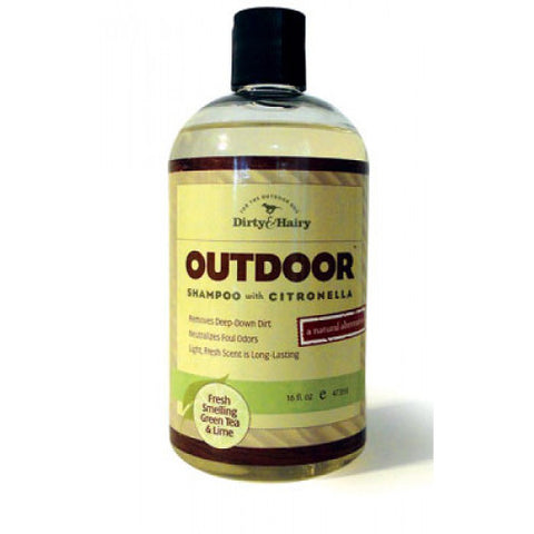 Green Tea & Lime Outdoor Shampoo with Citronella