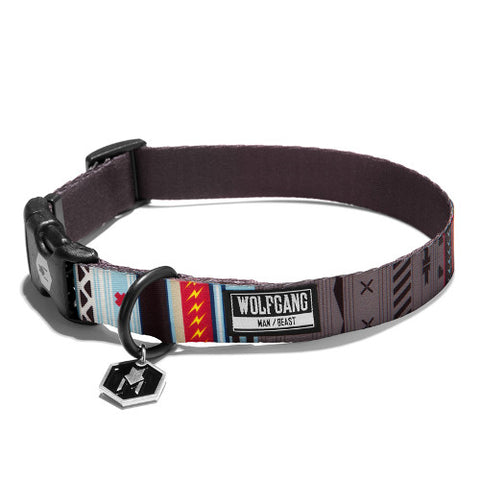 Wolfgang Man and Beast NativeLines Dog Collar