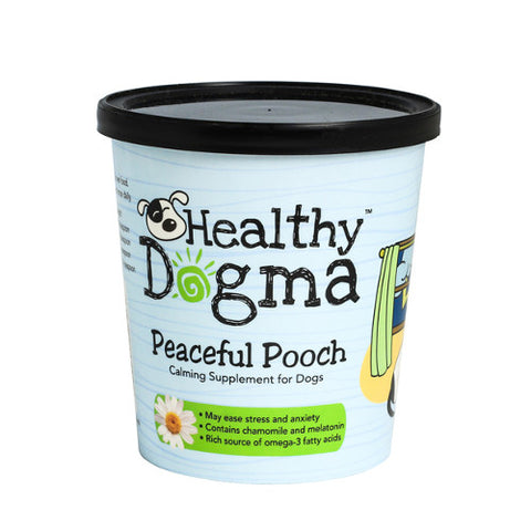 healthy dogma peaceful pooch calming nutritional supplement for dogs
