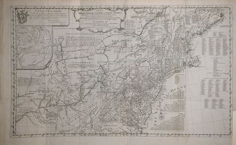 Thomas Pownall (British, 1722-1805), A Map of the Middle British Colonies in North America...