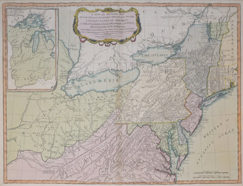 Robert Laurie James Whittle A New And - 1836 us map