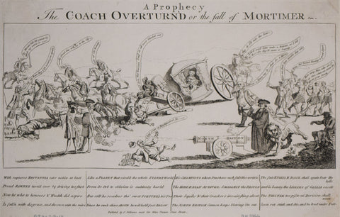 After Jeffereys Hamett O'Neale,  A prophecy. The coach overturn'd or The fall of Mortimer