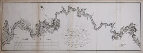 George Henri Victor Collot (1752-1805), A General Map of the River Ohio...Plate the Fourth