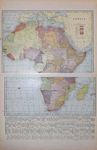 LIff's Imperial Atlas of the World , Africa