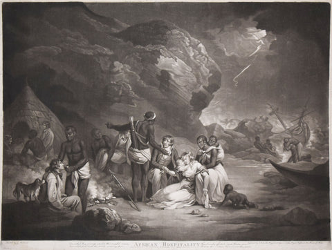 George Morland (1763–1804) after, African Hospitality
