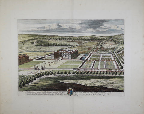 Johannes Kip (1652-1722), Althrop in the County of Northampton