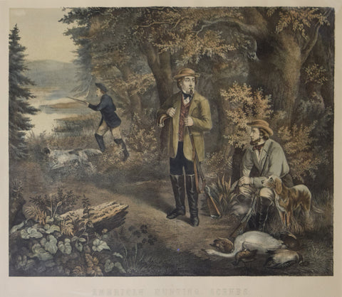 Unknown Artist, American Hunting Scene