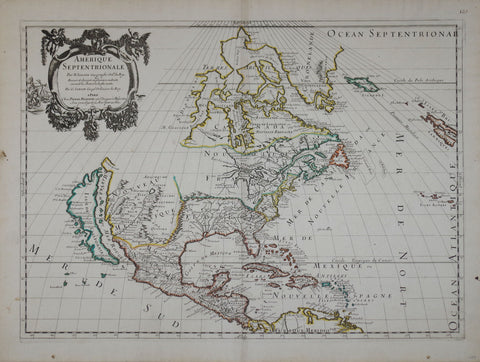 Robert De Vaugondy (French, 1723-1786), Amerique Septentrionale...