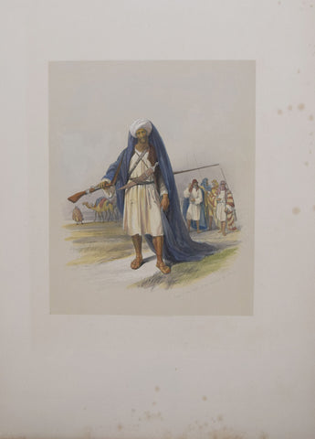 David Roberts (1796-1864), Arabs of the Tribe of the Benisaid