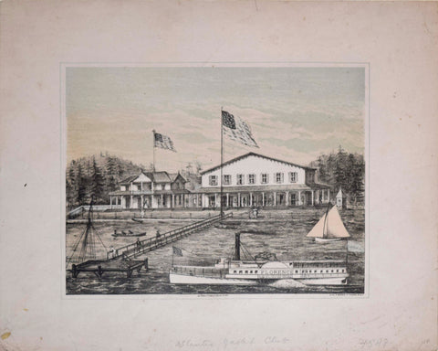 Unknown Illustrator, [Atlantic Yacht Club, New York]