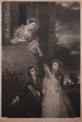 Joshua Reynolds (1723-1792), after,  Lady Sarah Lenox, Lady Susan Strangways, and Charles James Fox