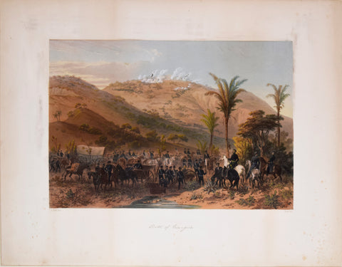 Carl Nebel (1805-1855), Illustrator, Battle of Cerro Gordo