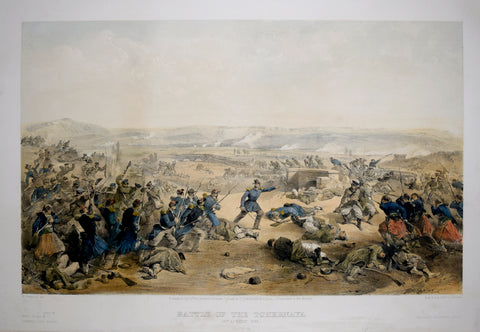 William Simpson (1823-1899), Illustrator, Battle of the Tchernaya