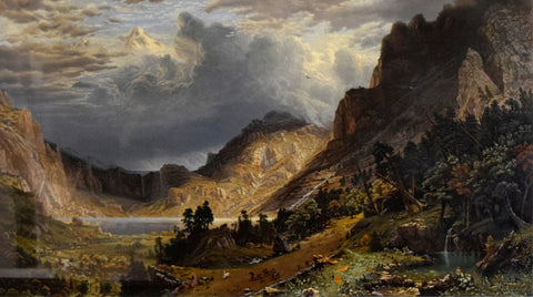Albert Bierstadt (1830-1902), Storm in the Rocky Mountains, Mt. Rosalie