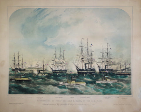John H. Bufford, Bombardment of Fort Hatteras and Clark by the U.S. Fleet