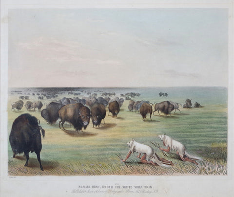 George Catlin (1796-1872), Buffalo Hunt