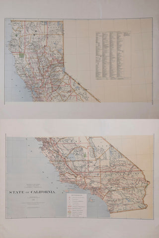 United States General Land Office/Charles Roeser, State of California, 1876