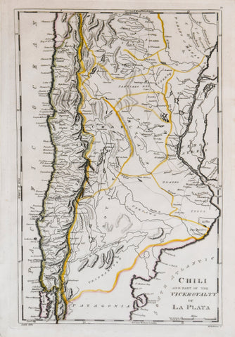 Matthew Carey (1760-1839), Chili and part of the Viceroyalty of La Plata