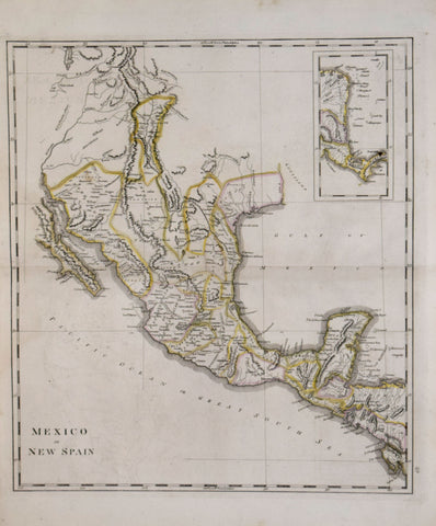 Mathew Carey (1760-1839), Mexico or New Spain