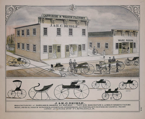 J& H. C. Deible Carriage and Wagon Factory