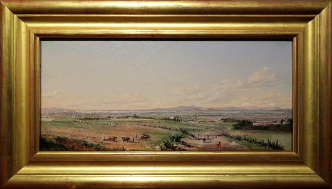 Conrad Wise Chapman (1842-1910),  VIEW OF MEXICO: Popcatepetl and Izaccihuatl mountains.