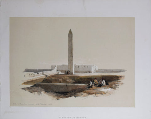 David Roberts (1796-1864), Cleopatra's Needle