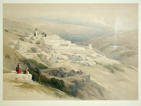 David Roberts (1796-1864), Convent of the Terra Santa Nazareth