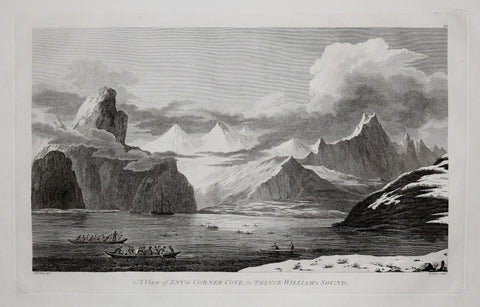 Captain James Cook (1728-1729) and John Webber (1751-1793), A View of Snug Corner Cove in Prince Williams Sound
