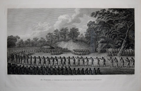 Captain James Cook (1728-1729) and John Webber (1751-1793), The Natche, a Ceremony in Honour of the Kings Son in Tongataboo