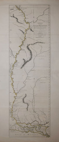 Lieut. Ross, Course of the River Mississippi from Balise to Fort Chartres…