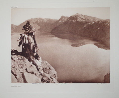 Edward S. Curtis (1868-1953), Crater Lake Pl 463