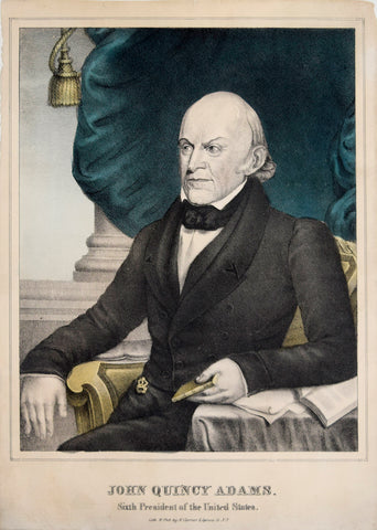 Nathaniel Currier (1813-1888) & James Ives (1824-1895), John Quincy Adams