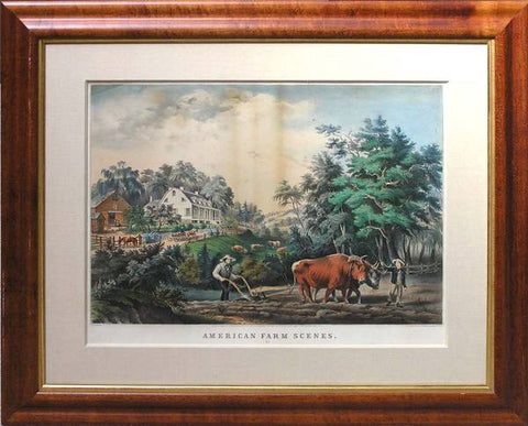 Nathaniel Currier (1813-1888) & James Ives (1824-1895), American Farm Scenes, No. 1