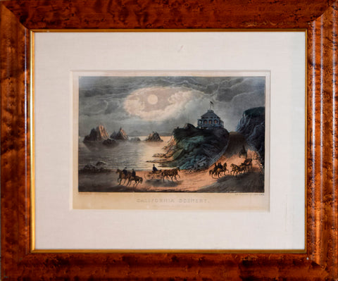 Nathaniel Currier (1813-1888) & James Ives (1824-1895), California Scenery: Seal Rocks, Point Lobos