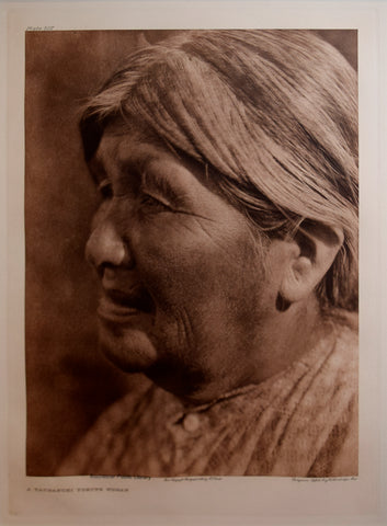Edward S. Curtis (1868-1953), Yaudanchi Yokuts Woman Pl 507