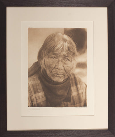 Edward Curtis (1868-1952), Pl 488 Aged Pomo Woman