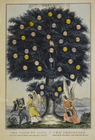 Nathaniel Currier (1813–1888),  The Tree of Life. The Christians