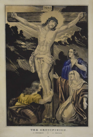 Nathaniel Currier (1813–1888),  The Crucifixion
