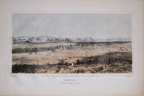 Alfred E. Mathews (1831-1874), Denver, City of the Plains
