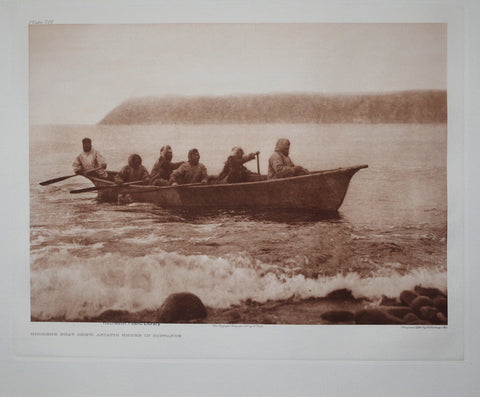Edward S. Curtis (1868-1953), Diomede Boat Crew Pl 705