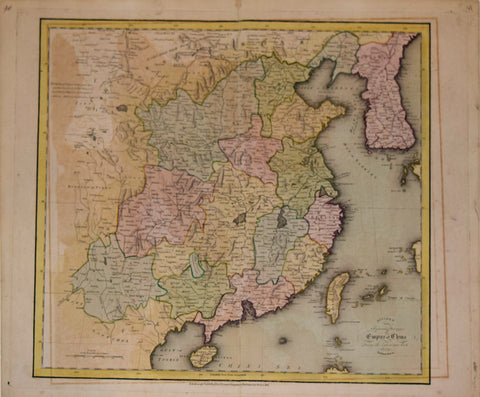 Daniel Lizars (Scottish, 1754-1812), Divided into Separate Provinces the Empire of China…