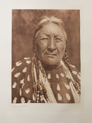 Edward S. Curtis  (1868-1952),  Dog Woman, Cheyenne, Pl. 668