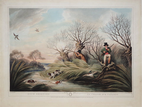 Thomas Williamson (1758-1817) and Samuel Howitt (1765-1822), Duck Shooting