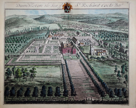 Johannes Kip (1652-1722), Dumbleton the Seat of Sr Richard