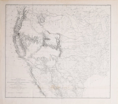 Lieut. William H. Emory (1811-1887), Map of the United States and their Territories between the Mississippi and the Pacific Ocean and Part of Mexico