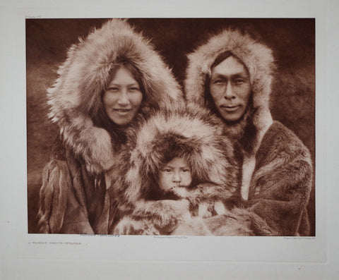 Edward S. Curtis (1868-1953), Family Noatak Pl 717